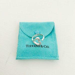 Tiffany & Co. | Peretti Open Heart Ring Size 6.5